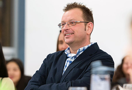 Scott Douglas, assistant professor in the Faculty of Education.