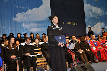 More than 1,650 students will receive their degrees at UBC Okanagan this week.
