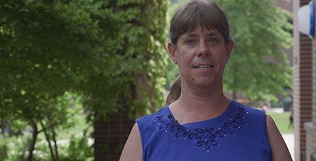 Study co-author Karen Hodges, associate professor of biology.