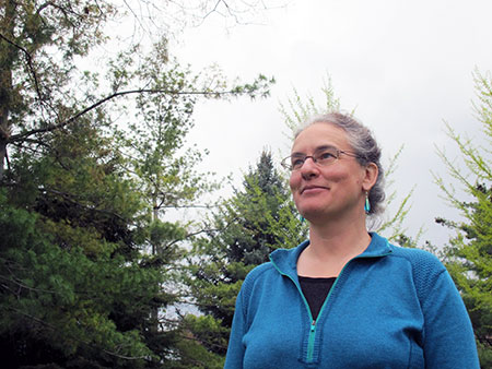 Mary Stockdale, sessional instructor of geography.