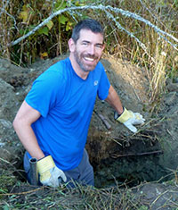 Jason Pither, associate professor of biology.