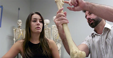 Screenshot from Health 100 video