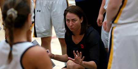 Heat women's head basketball coach Claire Meadows