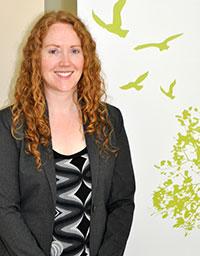 Meghan Currie, accessibility advisor.