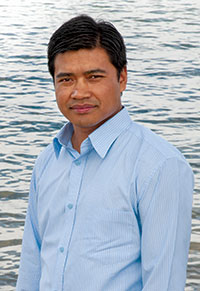 Engineering PhD candidate Gyan Chhipi Shrestha says high-density communities can make better use of the Okanagan's limited water supply.