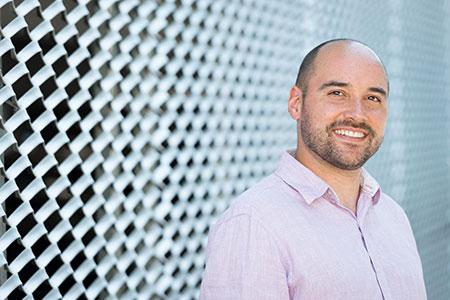 Assistant Professor of Economics Ross Hickey.