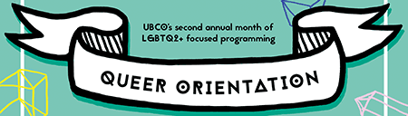 Graphic for Queer Orientation