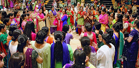 A group of women celebrate community and connectedness through dance and music at the annual ladies party hosted in Oliver, BC. (photo contributed)
