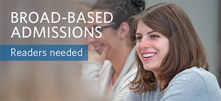 Broad-based Admissions graphic