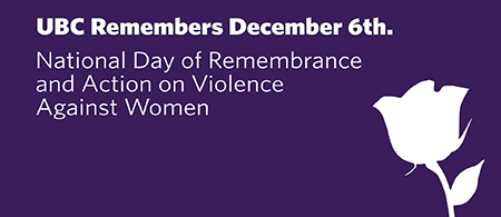 Graphic for National Day of Remembrance & Action on Violence Against Women