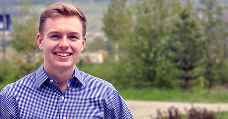 UBC Okanagan graduate Blago Hristovski