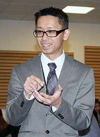 Eric Li, assistant professor of marketing and founder of the Healthy Living Project.