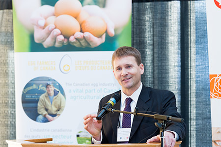 Nathan Pelletier, Endowed Chair in Bio-economy Sustainability Management, Egg Industry Chair in Sustainability