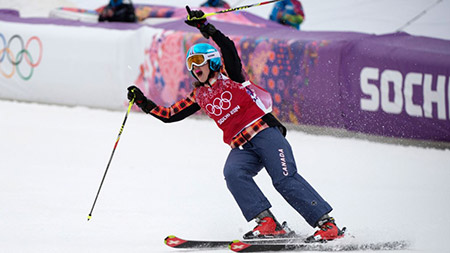 Kelsey Serwa. Photo credit: Olympic.ca