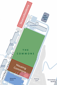 Graphic for Housing Commons and Skeena Residence Open House