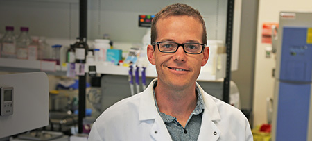 Jonathan Little, assistant professor of health and exercise sciences.
