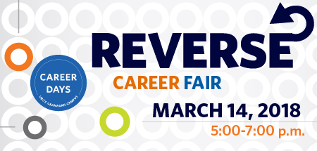 Image for the Reverse Career Fair