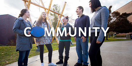 Graphic for community part of O in UBC campaign
