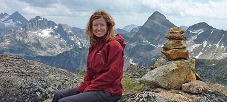 UBC Okanagan sustainability researcher Lael Parrott, report editor and contributor