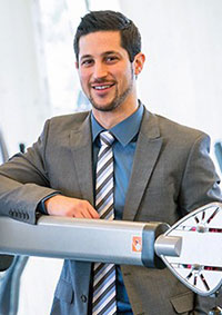 Matthew Stork is a PhD candidate in the School of Health and Exercise Sciences at UBC's Okanagan campus