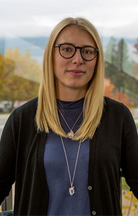 Michelle Thiessen is a clinical psychology graduate student and study lead author.