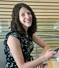 Susan Holtzman is an associate professor in the Irving K. Barber School of Arts and Sciences.