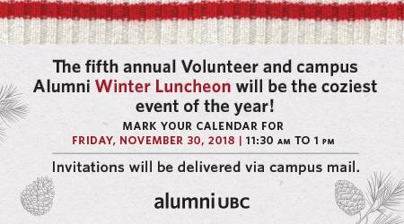 Alumni Luncheon invitation