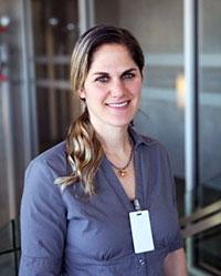 Hilla Shlomi, director of the Social Work Walk-In Clinic.