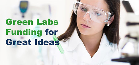 Green Labs fund graphic