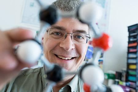 Stephen McNeil, assoc. prof. of chemistry.