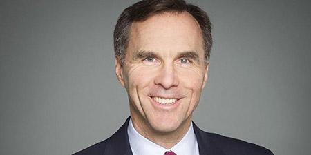 Canada's Minister of Finance, Bill Morneau