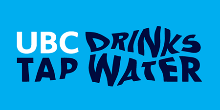 UBC tap water campaign graphic