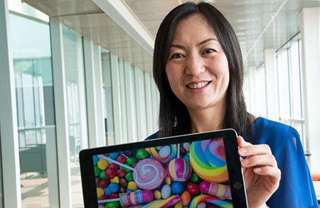 Ying Zhu, assistant professor of marketing.