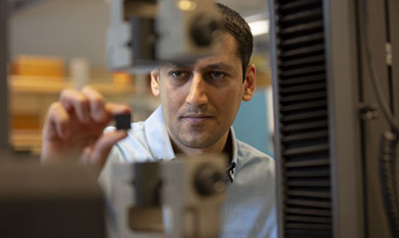Mohammad Arjmand, Canada Research Chair in Advanced Materials and Polymer Engineering.
