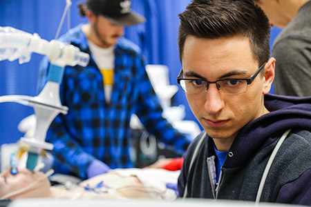 Ryan Hoiland has spent the past few years conducting research with UBCO's Centre for Heart, Lung and Vascular Health.