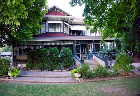 Two UBCO fine arts students have been awarded summer art residencies at The Caetani Cultural Centre, which is located in a historic house in Vernon.
