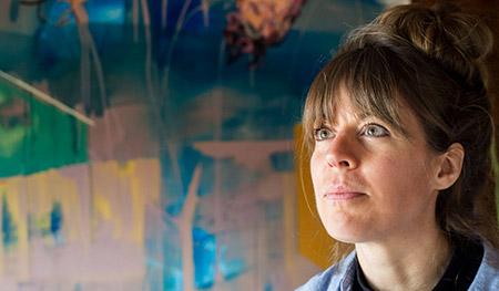 Master of Fine Arts student Lindsay Kirker.