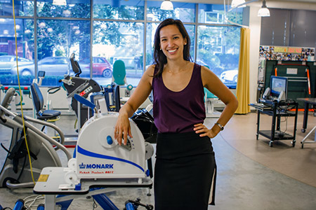 Jasmin Ma is a recent doctoral graduate from the School of Health and Exercise Sciences.