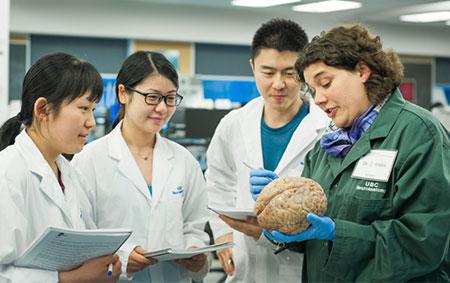 Claudia Krebs, professor of anatomy in UBC's faculty of medicine.