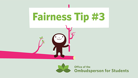 Ombuds Office Fairness Tip image