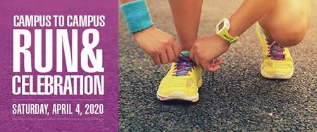 campus-to-campus half-marathon and relay