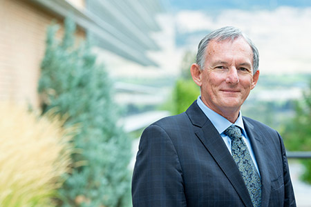 Ian Cull, Senior Advisor on Indigenous Affairs for UBC Okanagan.