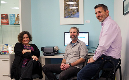 Sharon Hanna, Mathew Vis-Dunbar and Jason Pither announced this week UBC is the first Canadian university to sign on to the Center for Open Science's online platform, OSF Institutions.