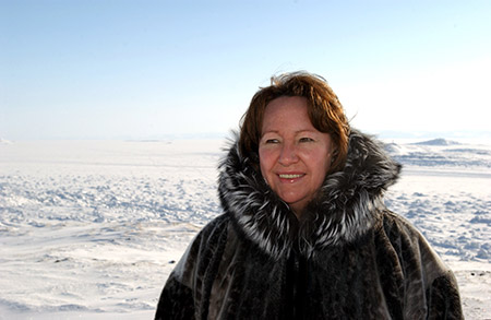 Environmental, cultural and human rights advocate Sheila Watt-Cloutier.