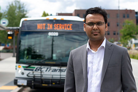 Assistant Professor Mahmudur Fatmi wants to hear how COVID-19 has impacted people's travel, whether it's running errands, going on a road trip or a cancelling that trip of a lifetime.