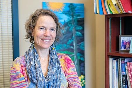Rebecca Tyson, professor of mathematical biology.