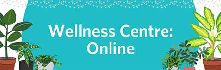 Wellness Centre: Online header image