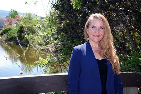 Katrina Plamondon, assistant professor in UBC Okanagan's School of Nursing.