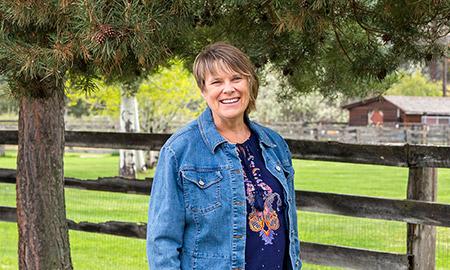 Nelly Oelke, associate professor of nursing.