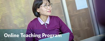 Online Teaching Program graphic